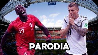 Parodia Alemania vs Perú 2-1 (Bebe)