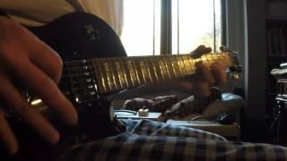 Heart  -  Magic Man guitar leads cover