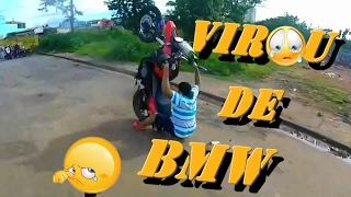 Falhas e capotes 4/ acidente de moto/ vídeos engraçados