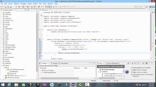 MineCraft Coding Tutorial Episode 2 ~ChatClear Plugin~