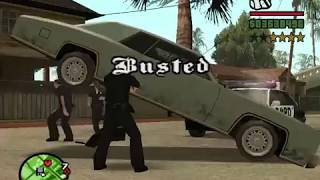 "GTA SA - ""Busted"" (Portal Gun)"