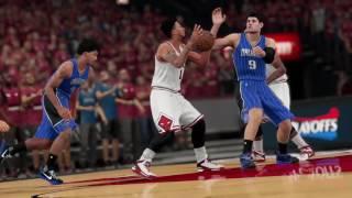 NBA 2K16 bulls vs magic videotape L.A Love (La La
