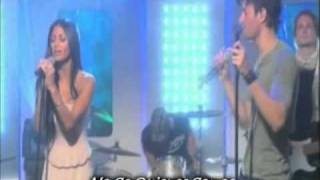 Enrique Iglesias Ft Nicole Scherzinger - Heartbeat (Live) Sub Español