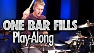 One Bar Drum Fills - Play-Along (DRUMEO)