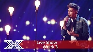 Matt Terry jams to Mariah Carey's I'll Be There   Live Shows Week 3   The X Factor UK 2016