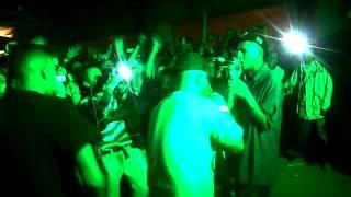 Tinta ft Lion Fiah, IYhon Secuaz  LIVE NOCHE DE HIP HOP 1