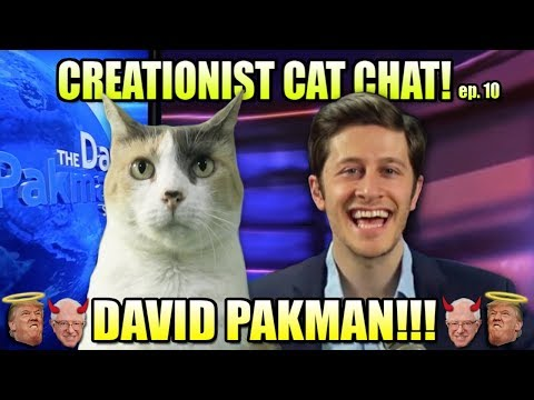 David Pakman talks Trump, Bernie, Communism & More! On Creationist Cat Chat!