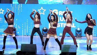 181026 레드벨벳 (Red Velvet) 파워업 (Power Up) [4K] 직캠 Fancam (GREAT MUSIC FESTIVAL) by Mera