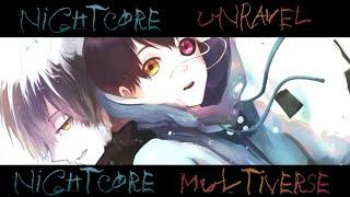 Nightcore Unravel [Full English Cover]-Caleb Hyles