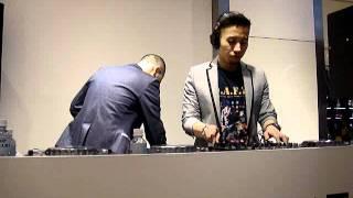 DEXPISTOLS live dj at TOPMAN 横浜1
