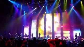 Michael Bublé feat. Naturally 7 - Get Lucky (Live @ Stožice, Ljubljana)