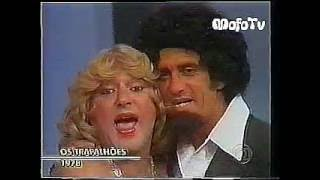 Jane e Herondy cantando nOs Trapalhões