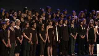 """Eye of the tiger"" - Survivor - ROCKY / chorale du Collège REVERDY (Sablé sur Sarthe - Marc Leroy)"