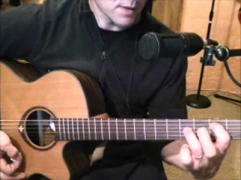 Jouer je t'aimais, je t'aime et je t'aimerai de Francis Cabrel à la guitare