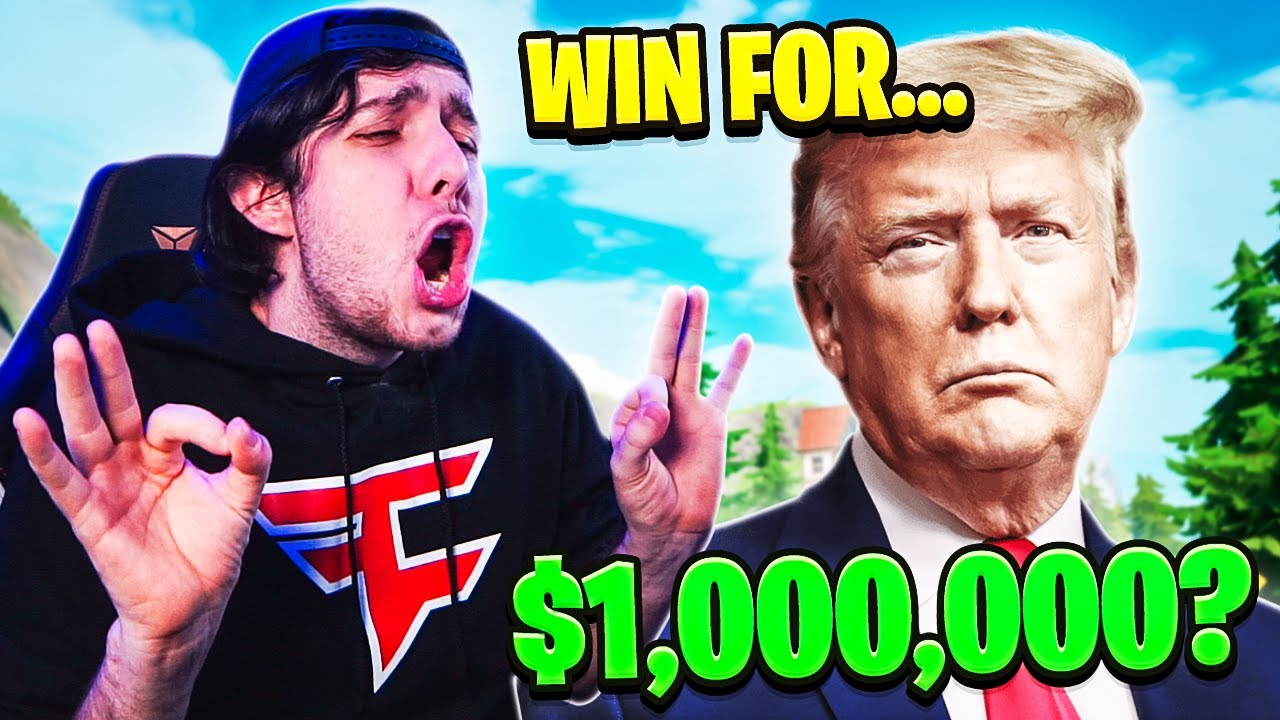 TheDramaticPause - The DONALD TRUMP CHALLENGE in Fortnite!