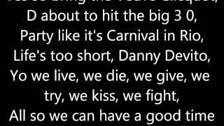 Drinking From The Bottle Lyrics - Calvin Harris ft. Tinie Tempah