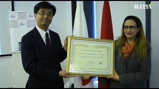 L'Association des Participants Marocains au Programme de la JICA reçoit le Prix de la reconnaissance