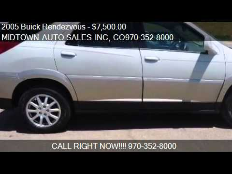 Used Tires Flint Mi >> 2005 Buick Rendezvous Problems, Online Manuals and Repair ...