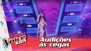 Maria Clara Rosis canta 'Break Free' na Audição – 'The Voice Kids Brasil' | 3ª Temporada