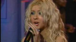 Christina Aguilera Reflection Live MuchMusic