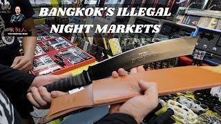 Bangkok's Illegal Night Markets | Martial Diaries_006