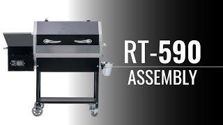 RT-590 Stampede Quick Assembly • REC TEC Grills