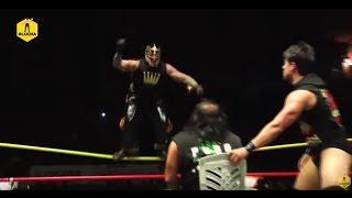 Rey Misterio, Penta Zero M y Garza Jr. vs La Familia de Tijuana