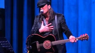 Michael Sweet - How To Live - Spire Center for the Arts- 12/19/14