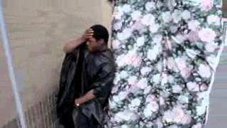 Kanye West HITS POLE PARODY