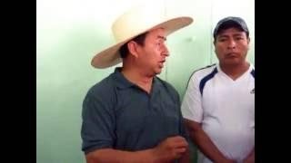 Gregorio Santos responde a críticas de Alex Huamán de  Perú Posible en San Ignacio.11-09-16