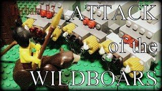 LEGO Epic Wildboars vs Battlewagon Chase [Torbald B3]