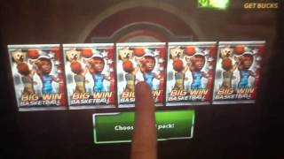 Big Win Basketball Big Players Pack Opening