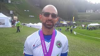 Massimiliano Mandia commenta l'argento iridato arco olimpico