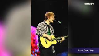 Ed Sheeran fills in for pal Justin Bieber's canceled show