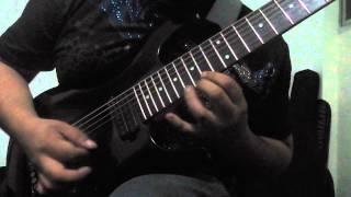 Solo y unisono guitarra/ teclado de Vete