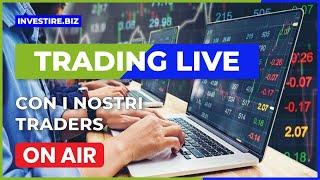 Trading Live - I livelli chiave di oro e argento