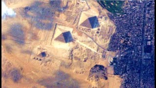 When Seen From The Sky The Great Pyramid Reveals A Secret