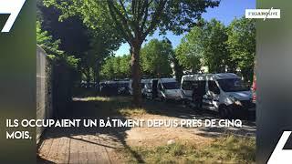 Occupé par des migrants, un bâtiment de l'université Paris VIII évacué