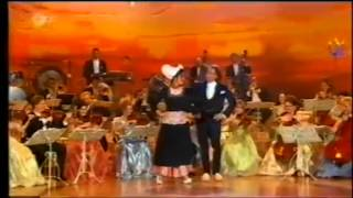 André Rieu and Barbara Wussow Clog Dancing