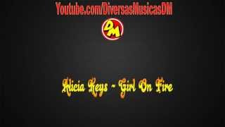 Alicia Keys Girl On Fire [ Tema da novela Salve Jorge ]