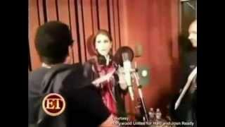 Céline Dion - We Are The World 25 for Haiti (Recording Sessions / Studio)