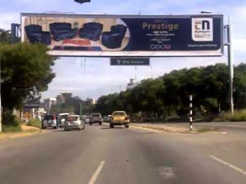 Billboards in Zimbabwe