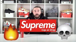 SUPREME FW17 WEEK 5 🤑 COP OR DROP 👍👎 SUPREME x Andres Serrano AND Supreme x VANS