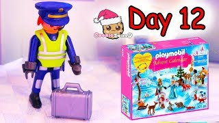 Playmobil Holiday Christmas Advent Calendar Day 12 Cookie Swirl C Toy Surprise Video