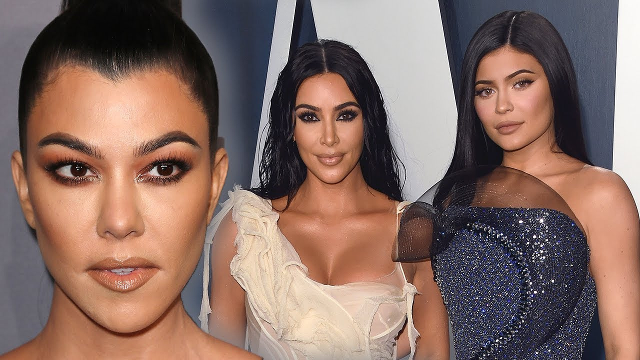 Kylie Jenner & Kim Kardashian makeup dissed by  Kourtney Kardashian