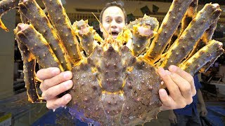 INSANE Chinese Seafood - $1500 Seafood FEAST in Guangzhou, China - 10 KG BIGGEST Lobster + KING Crab width=