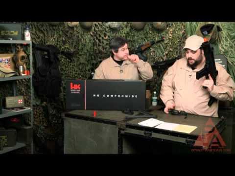 Video: H&K KWA G36C Airsoft Rifle - RFR Episode 42   Pyramyd Air