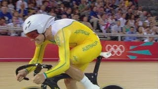 Cycling Track Men's Omnium Flying Lap 250m Time Trial - Full Replay -- London 2012 Olympic Games