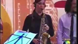 Sintia Piccin Alguns momentos no programa do Ratinho