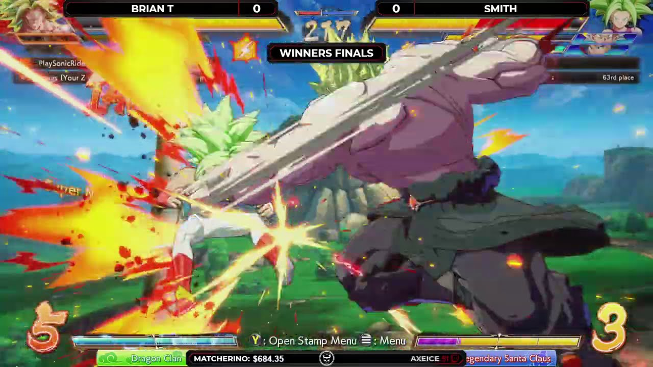 Team Spooky - Dragon Ball FighterZ Winners Final - Brian T vs Smith @ NLBC Online Edition #41